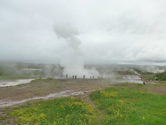 Strokkur: Poof! It's Done and Gone.