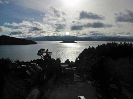 Nido del Condor Hotel & Spa: Vista da frente do quarto 31 / Amanhecendo