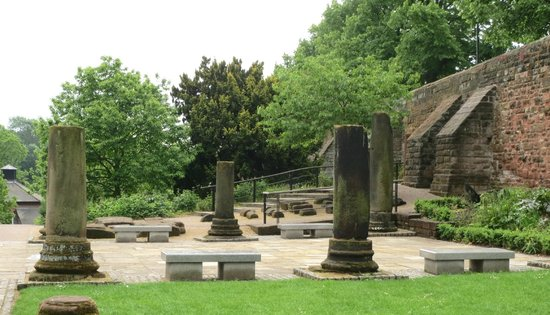 Roman Garden Picture Of Walls Of Chester Chester