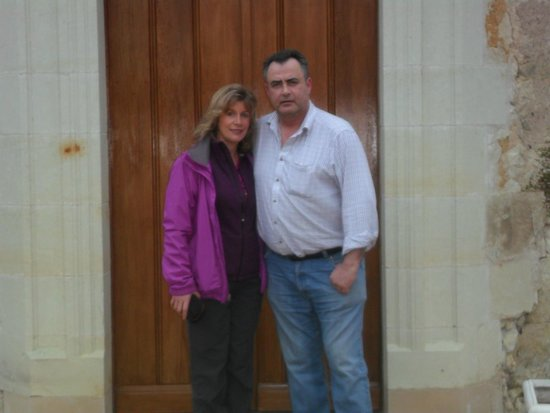 Loire Valley Retreat: Me and Rob