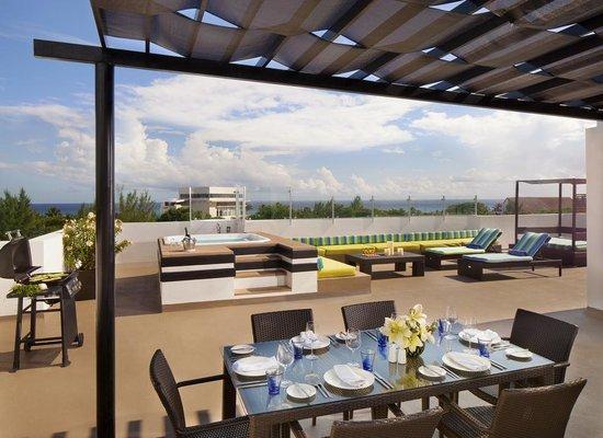 Sky Suite Terrace Picture Of Azul Beach Resort The Fives Playa Del Carmen Playa Del Carmen