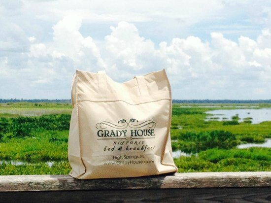 Grady House Bed and Breakfast : Utilizing our gift while touring Paynes Prairie