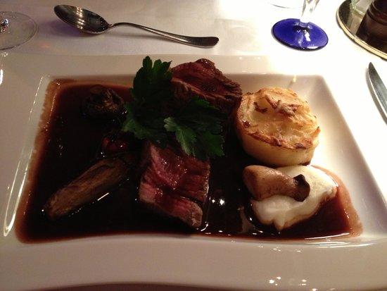 Park Restaurant: Beef fillet delicious