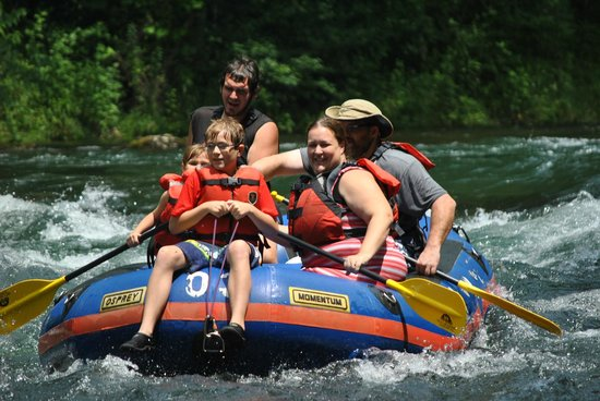 High Mountain Expeditions: Riding the bull on the rapids