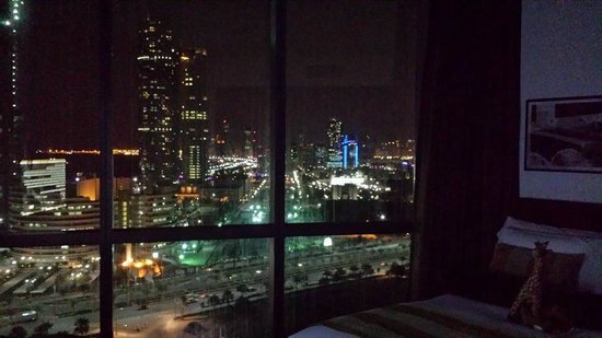 Jumeirah at Etihad Towers: Stunning bedroom view