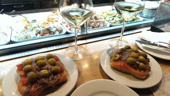 Cervecería Catalana: Deliciosa tapa