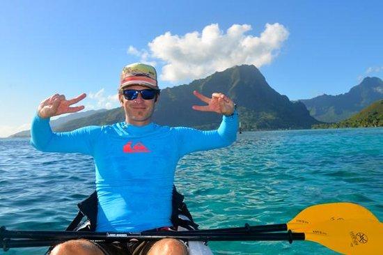 Kayak Nomad Polynesia : Kayakausflug