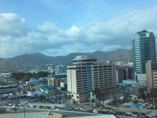 Hyatt Regency Trinidad: city view