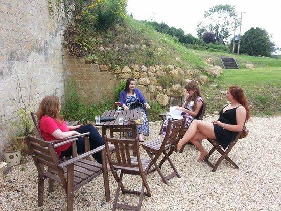 Waterhouse: outdoor seating