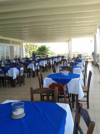 Hotel Kavuras Village : terrazza ristorante