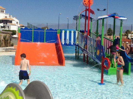 Protur Roquetas Hotel & Spa: Splash Pool