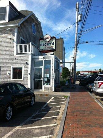 Becky's Diner : outside of Becky's