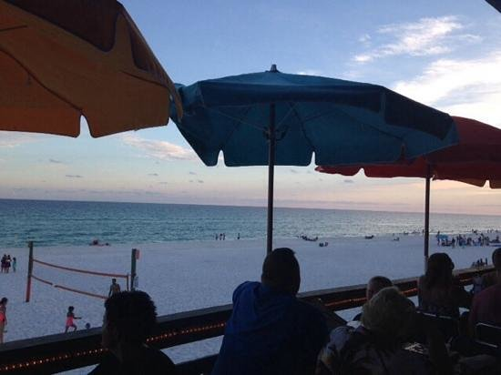 Pompano Joe's: view from the table