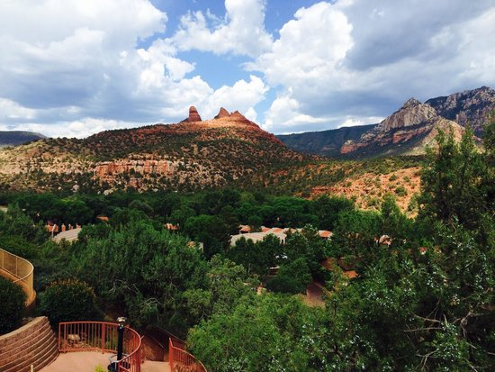 The Orchards Inn of Sedona: View our our balcony!