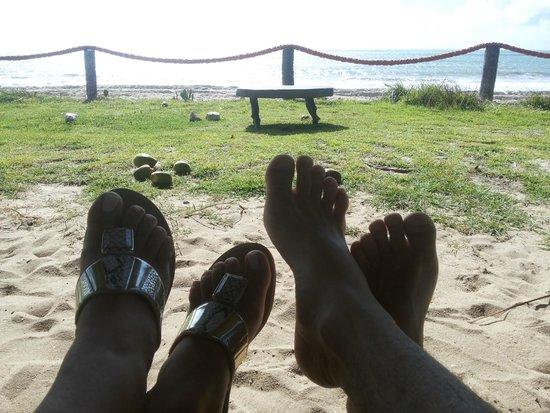 Xales de Maracaipe Pousada: Descanso a Beira mar.