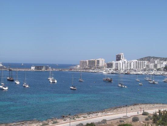 Intertur Hotel Hawaii Ibiza : View from our room at Hotel Hawai