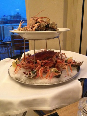 WestBeach: Hot and cold fruits de mer