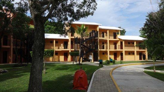 Hotel Riu Lupita: uno de los edificios de habitaciones