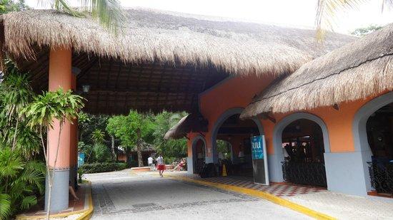 Hotel Riu Lupita: recepcion