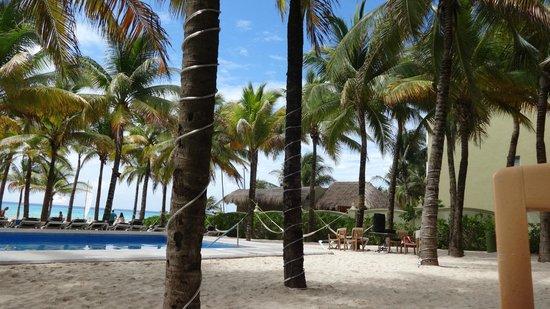 Hotel Riu Lupita: el beach club