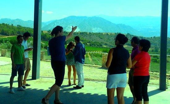 Hacienda Senorio de Nevada: Visita guiada por Ali.