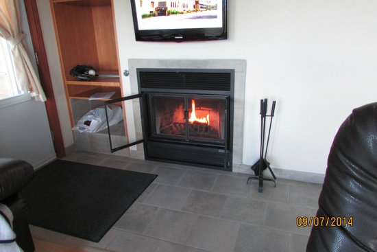 Condo-Hotel Natakam and Cottages: Fireplace - must use only specific logs