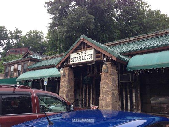 Ye Olde Steak House On The Side Of Road