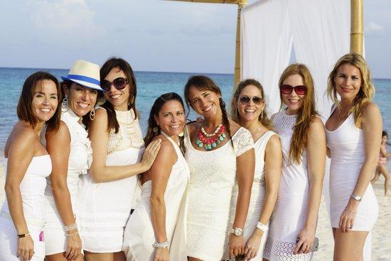 Paradisus Playa del Carmen La Perla : bellas princesas del Paradisus...
