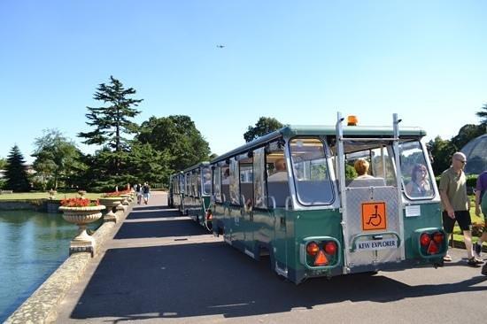 Royal Botanic Gardens Kew: The bus