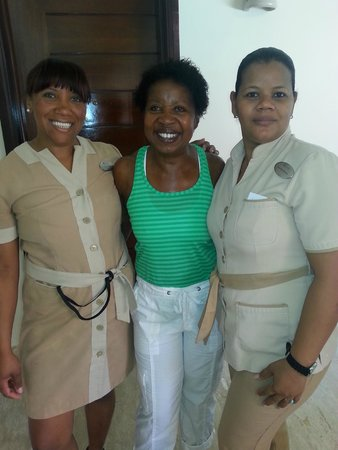 The Reserve at Paradisus Palma Real: Jarisi Castro and Agueda Berroa Housekeeping. Excellent Service.