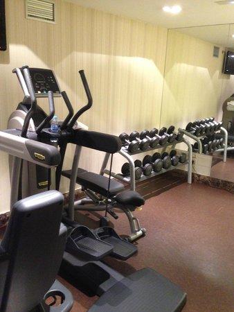 NH Collection Palacio de Tepa: Gym