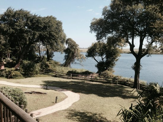 Chobe Marina Lodge: View from our room