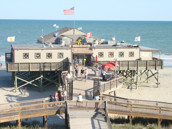 Pier 14 Just Behind The Yachtsman Picture Of Resort