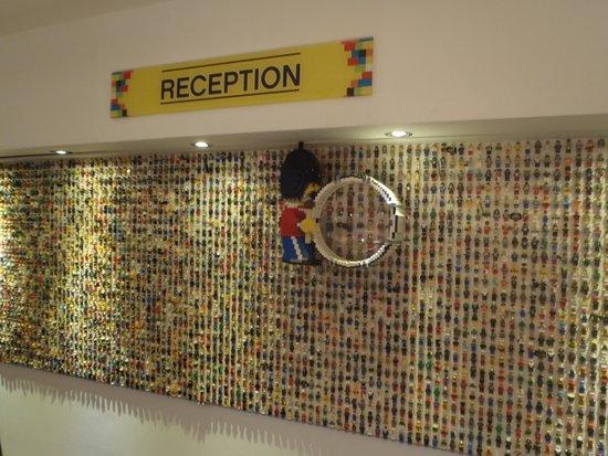 Legoland Windsor Resort Hotel: レセプション