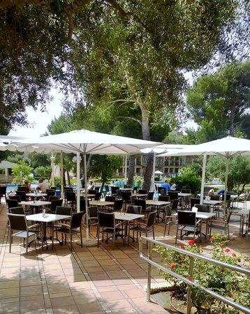 Grupotel Gran Vista & Spa: Outside bar area