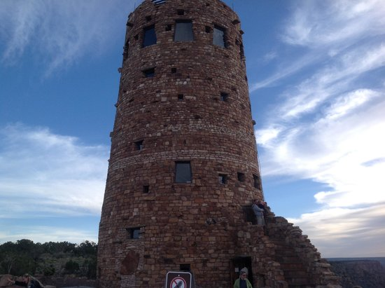 Grand Canyon Desert View Watchtower: The Watchtower