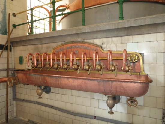 Eggenberg Pivovary : old style brewery