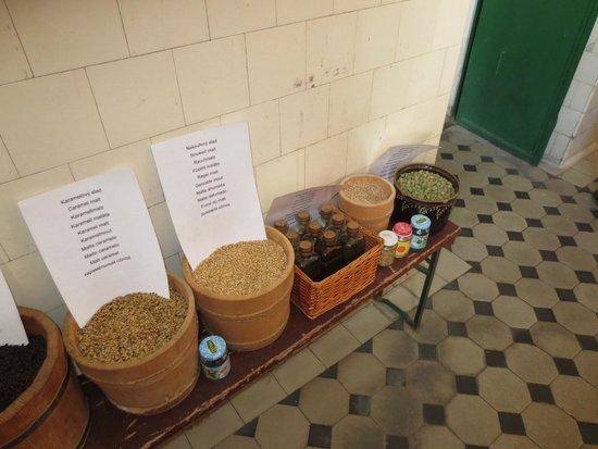 Eggenberg Pivovary : Different grains