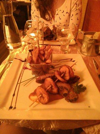 Sisco: Kangourou avec patates douces façon frites