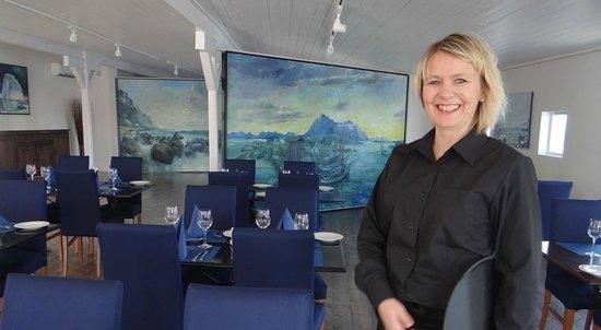 Lofoten Arctic Hotel: Restaurant at Skata