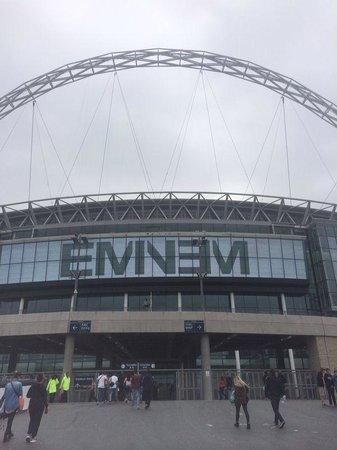 Premier Inn London Wembley Park Hotel : Eminem Wembley Stadium