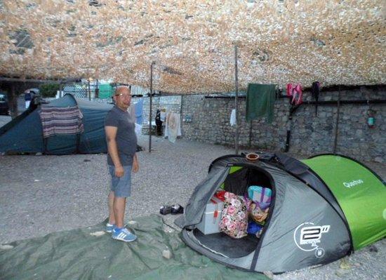 Camping Monti e Mare Alassio: piazzola