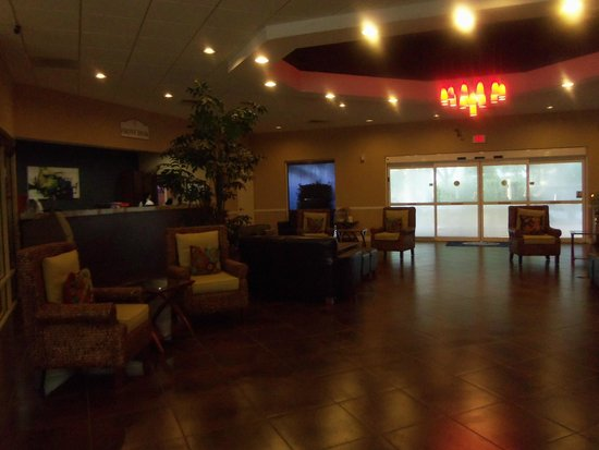 Silver Lake Resort: Reception area