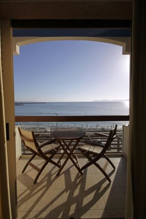 Sitia Bay Hotel: Morning view from apartment