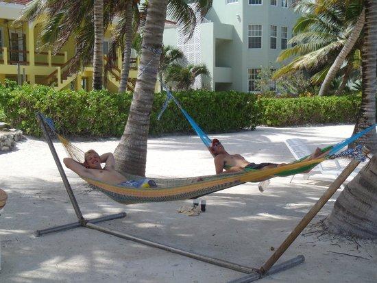 The Landings at Tres Cocos: Hammocks were comfy