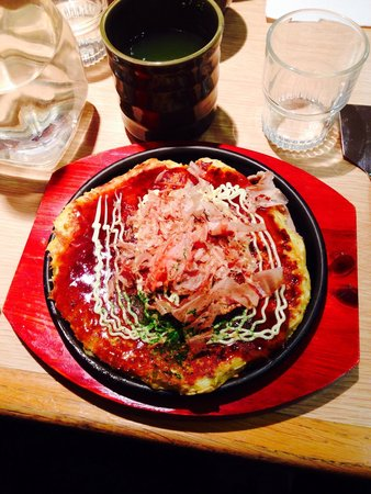 Délicieux Okonomiyaki