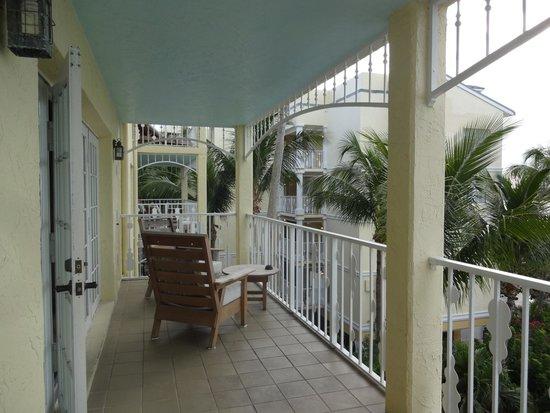 Ocean Key Resort & Spa: HUGE balcony of 2-bedroom suite