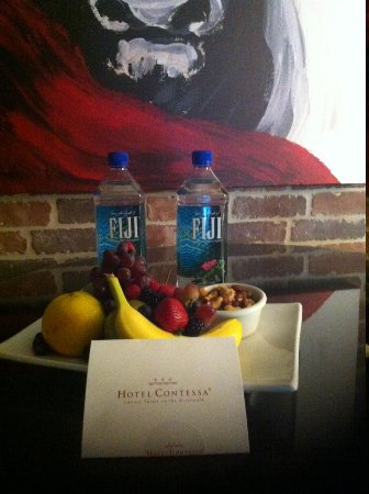 Hotel Contessa: Welcome package