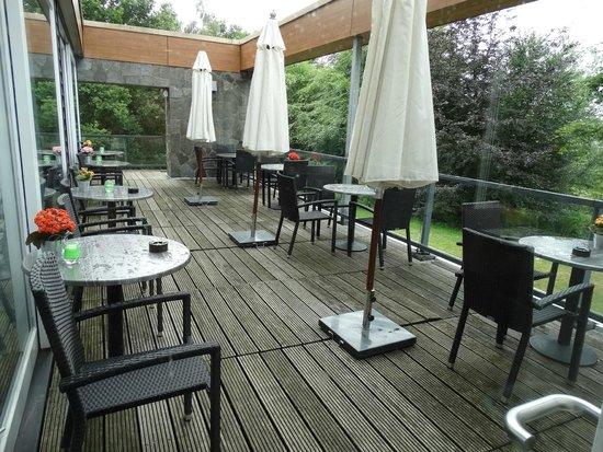 Fletcher Hotel-Restaurant Stadspark: Leuk terras