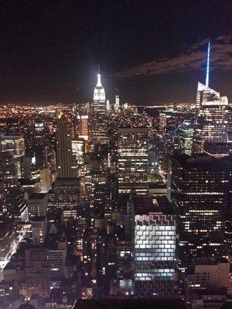 Rockefeller Center : Vista do Empire State do topo do Rock